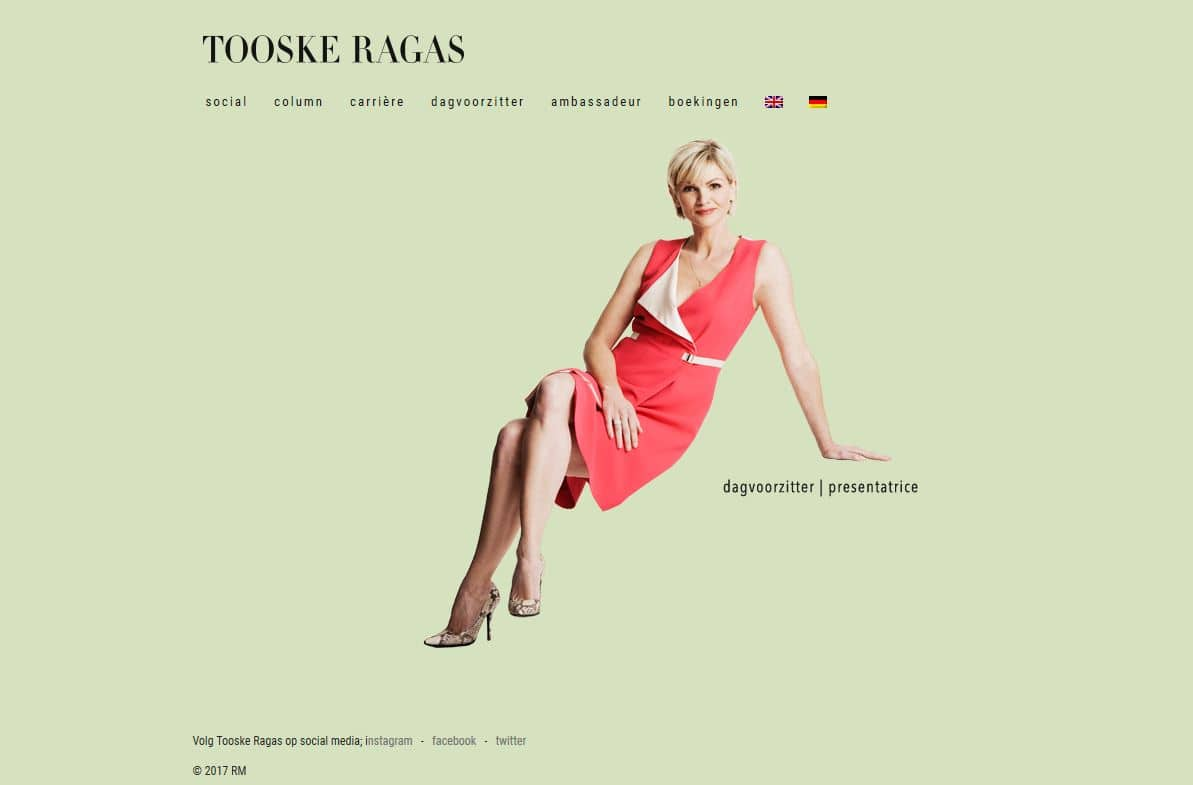 official website Tooske Ragas